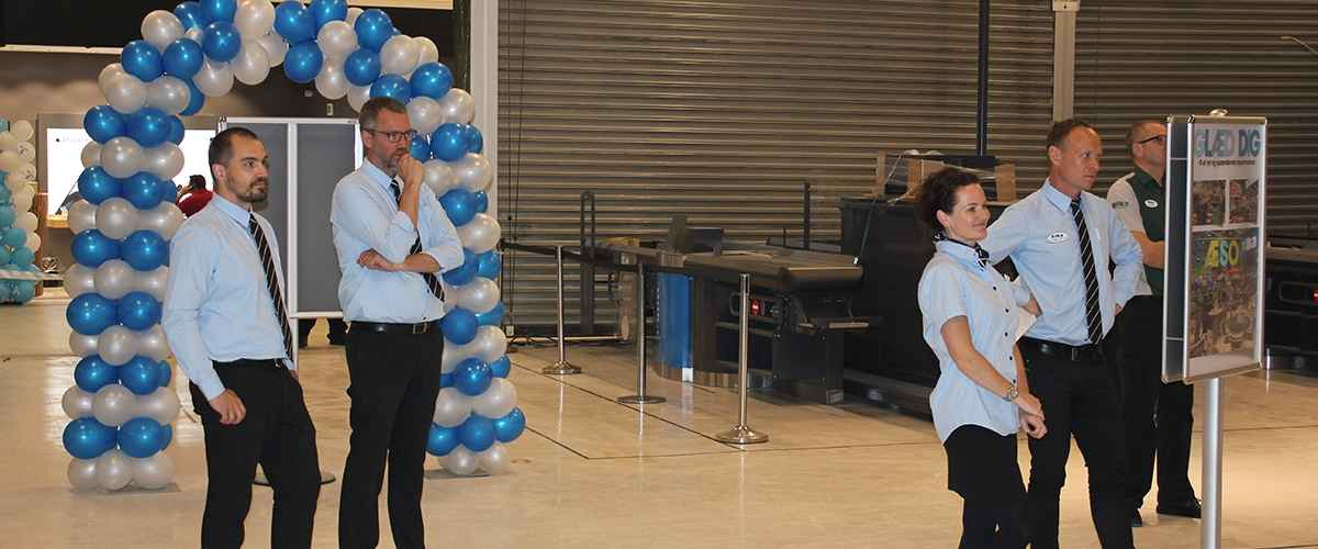 Dansk Supermarked / Salling Group er selv pænt repræsenterede af særligt kommende ledere i det nye Bilka Hypermarked